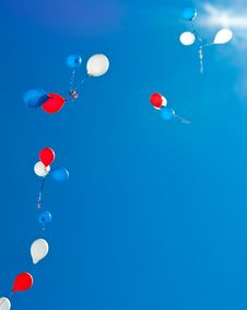 Free Colorful Balloons Stock Image - 19602961