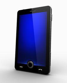Free Classy Cellphone - Blue Screen Royalty Free Stock Photos - 19603568