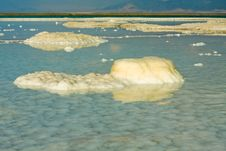 Free Strange Forms And Colors Of Salt, Dead Sea, Israel Stock Images - 19603614