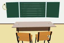 Free Empty School Class Stock Image - 19603971