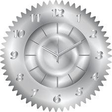 Clock Metal Gear Stock Images