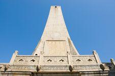 Monument To The Sun Yat-sen Stock Photos