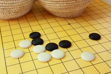 The Game Of Go Royalty Free Stock Photos