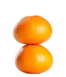 Orange Ripe Fruit Royalty Free Stock Photos