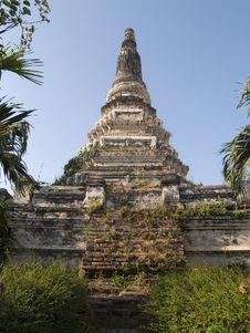 Free Pagoda In  Ayutthaya Royalty Free Stock Photography - 19605387