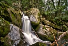 Free A Forest Waterfall Stock Photo - 19605710