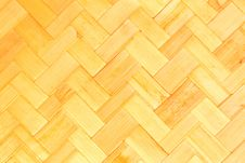 Free Texture Of Bamboo Weave Royalty Free Stock Photo - 19606015