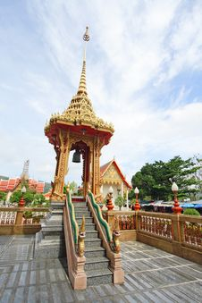 Free Bell Tower Thai Style Royalty Free Stock Images - 19606059