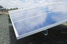 Solar Cell Plant Stock Photos