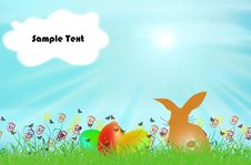 Free Easter Eggs Stock Image - 19606411