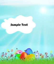 Free Easter Eggs Stock Images - 19606414
