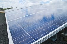 Free Solar Cell Plant Stock Photo - 19606420
