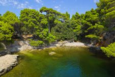 Free Lake At Croatia Royalty Free Stock Photography - 19607637