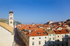 Free Town Dubrovnik In Croatia Stock Photography - 19607782