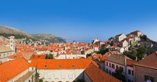 Free Panorama Of Dubrovnik In Croatia Royalty Free Stock Photos - 19607808