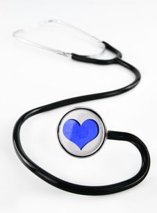 Free Stethoscope Royalty Free Stock Photos - 19608098