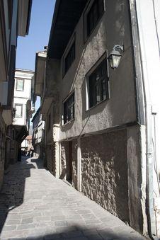 Old City Ohrid Royalty Free Stock Photo