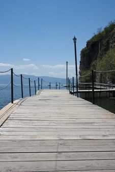 Free Ohrid Lake Royalty Free Stock Photography - 19608357