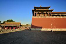 Free Beijing Forbidden City Stock Images - 19608644