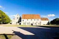Free Noirlac Abbey Stock Image - 19608911