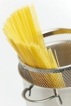 Free Spaghetti In Pot Royalty Free Stock Images - 19609009