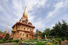 Free Chaitharam Temple Royalty Free Stock Image - 19609066