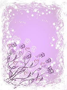 Free Flower Card Stock Images - 19609854
