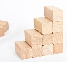 Free Natur Wooden Toy Royalty Free Stock Photography - 19609867