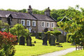 Free Row Of Village Cottages Stock Photography - 19610782
