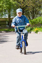 Free Boy On Bicycle Royalty Free Stock Photography - 19613357