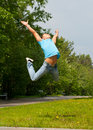 Free Young Man Jumping In Air Royalty Free Stock Photo - 19615475