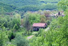 View Of Bulgarian Village Royalty Free Stock Images