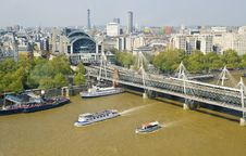 Free London Foot Bridge Stock Photos - 19611453