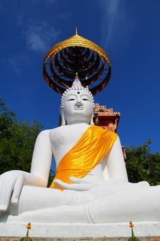 Free The Big White Buddha Stock Photo - 19611500