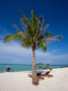 Free Resort On The Beach Royalty Free Stock Image - 19612006