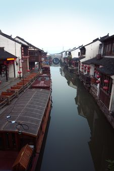 Free Suzhou Canal Stock Images - 19612054
