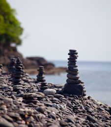 Stack Of Stones Stock Images