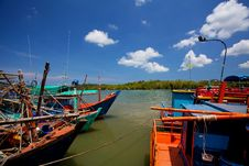 Free Fishing Boats Royalty Free Stock Images - 19612449