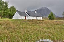 Free Blackrock Cottage Glencoe Stock Photography - 19612782