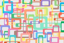 Free Square Colorful Background Royalty Free Stock Image - 19613636