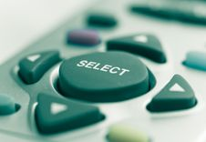 Select Button Stock Photography