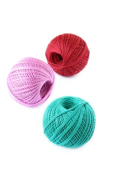 Free Colored Thread For Knitting Stock Photography - 19613892