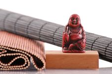 Free Buddha S Smile Royalty Free Stock Photos - 19615658