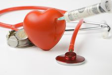 Free Injecting Heart Stock Images - 19615834