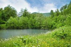 Free Beautiful Mountain Summer Lake Royalty Free Stock Images - 19616579