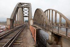 Free Railway Bridge Royalty Free Stock Image - 19617156