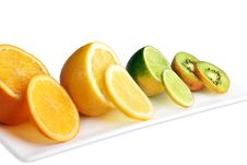 Free Exotic Fruit On Plate Stock Images - 19617434