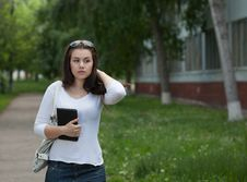 Free Young Student In The Campus Royalty Free Stock Photo - 19617655