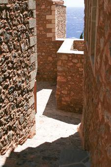 Free Old Street In Monemvasia Stock Photo - 19618290