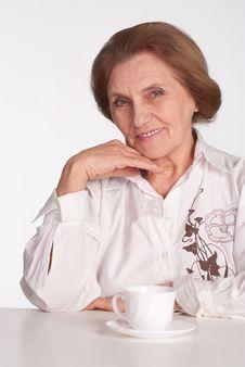 Free Beautiful Elderly Woman Stock Photo - 19618360